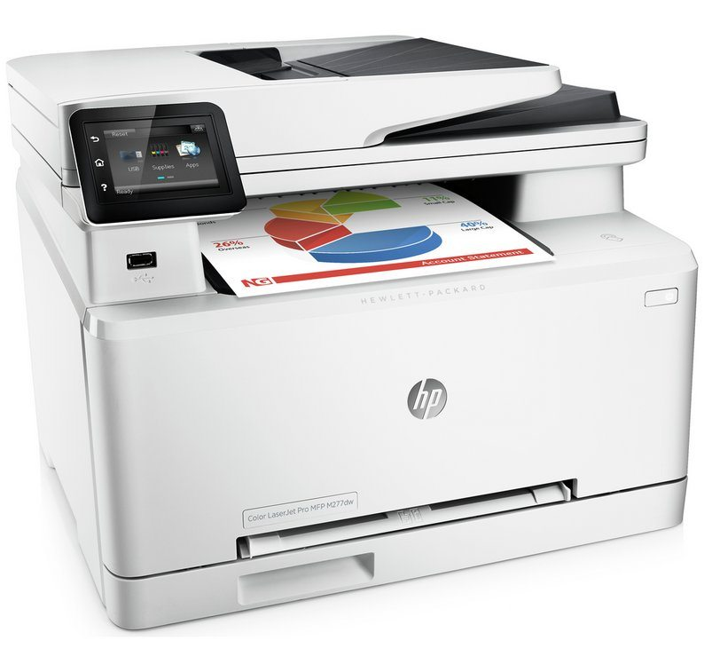 HP-M277dw laser printer for repair in Reading